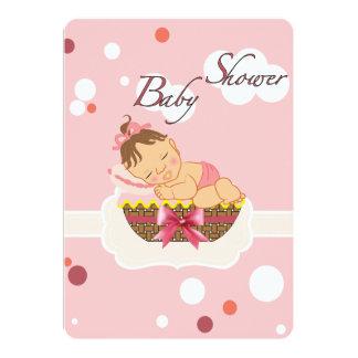 baby shower kaart voor meisje 12,7x17,8 uitnodiging kaart