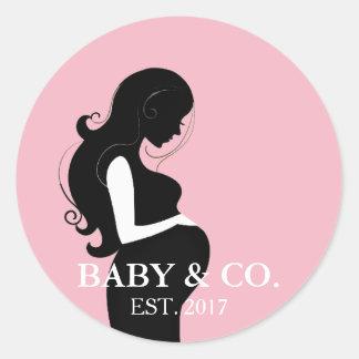 BABY & Stickers van het Baby shower van het Meisje