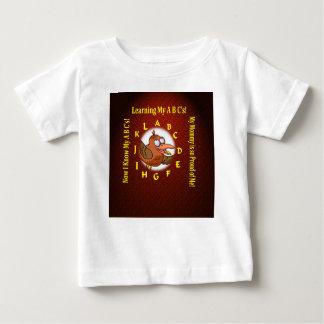 baby t-shirt het leren alfabet abc