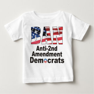 Baby T van de Democraten van het Amendement van Baby T Shirts