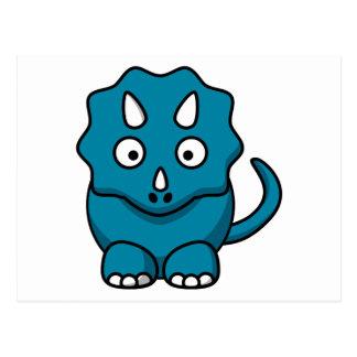 Baby Triceratops Briefkaart