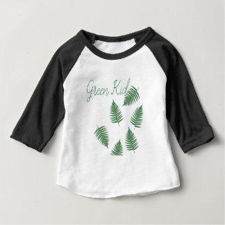 Baby van de Varen van het modieuze Groene Kind het Baby T Shirts