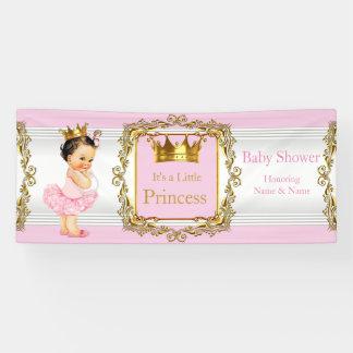 Baby van het Baby shower van de prinses het Roze Spandoek