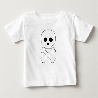 babywear schedel baby t shirts