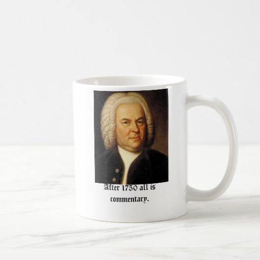 Bach, na 1750 allen is commentaar beker