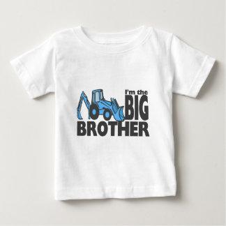 Backhoe van de grote Broer Baby T Shirts