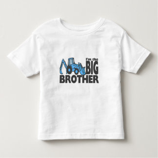 Backhoe van de grote Broer Kinder Shirts