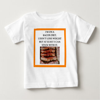 BACON BABY T SHIRTS