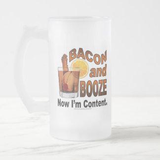 BACON en STERKE DRANK! Nu ben ik Tevreden - de Matglas Bierpul