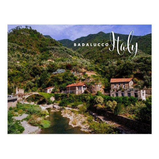 Badalucco Italië Briefkaart