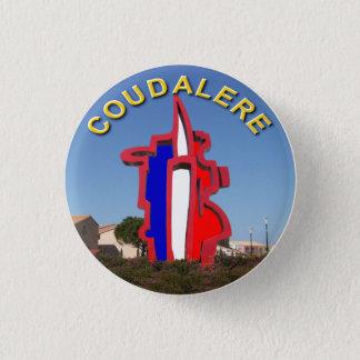 badge coudalere barcarès ronde button 3,2 cm