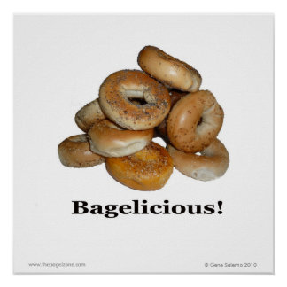 Bagelicious! Poster