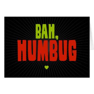 Bah Humbug Notitiekaart