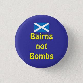 Bairns niet bombardeert de Schotse Knoop van Indy Ronde Button 3,2 Cm