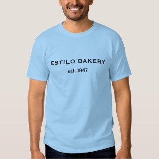 BAKKERIJ ESTILO, est. 1947 T-shirts