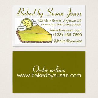 Bakkerij van de Pastei van het Limoen van Florida Visitekaartjes
