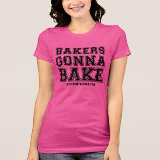 Bakkers die gaan bakken t shirt