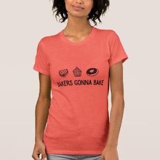 Bakkers die overhemd voor de beste bakker gaan t shirt