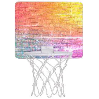 Baksteen Gesteunde Muur Mini Basketbalbord