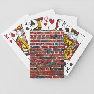 Bakstenen - Koele Unieke Pret Speelkaarten