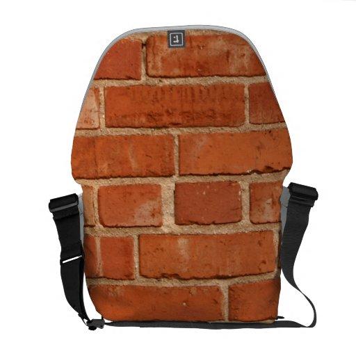 Bakstenen muur courier bags