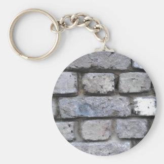 Bakstenen muur sleutelhanger