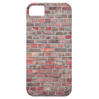 bakstenen muurachtergrond - rode vintage steen barely there iPhone 5 hoesje
