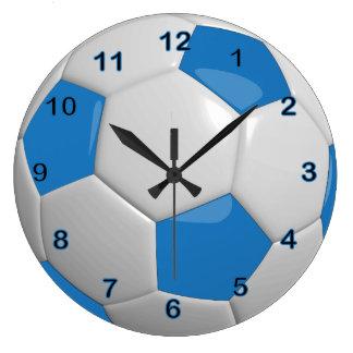 Bal | van het voetbal Blauw Grote Klok