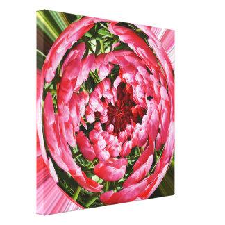 Bal van tulpen canvas afdruk