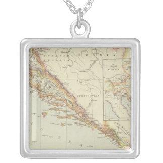 Balkan Schiereiland, Kroatië, Slovenië Zilver Vergulden Ketting