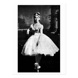 Ballerina, 1870. briefkaart