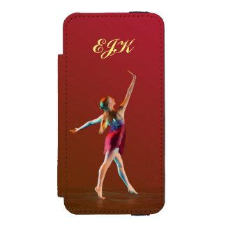 Ballerina in Rood, Monogram