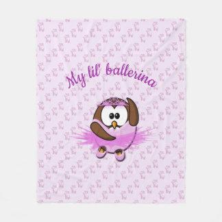 ballerina uil - deken