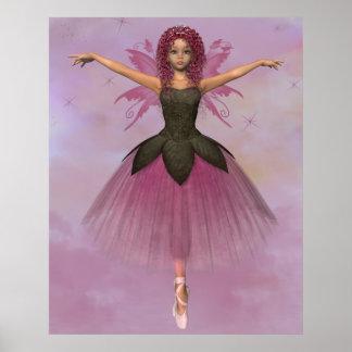 Ballet 1 van de fee poster
