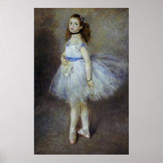 Balletdanser door Pierre Renoir, Vintage Fine Art Poster