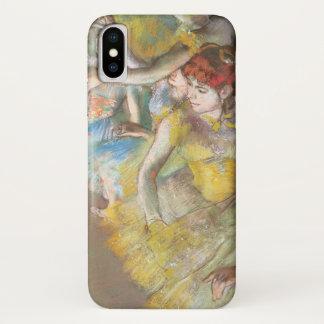 Balletdansers op het Stadium door Edgar Degas iPhone X Hoesje
