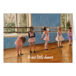 Balletdansers van het Meisje van de impressionist Briefkaarten 0