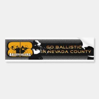 ballistische baller bumber sitcker #1 bumpersticker
