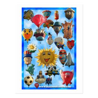 Ballon abq-424 briefkaart