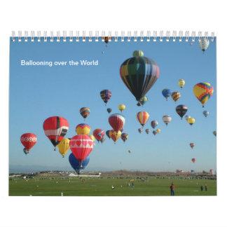Ballon allen het hele jaar door kalender