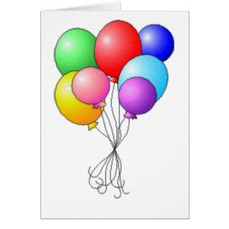 ballon boeket briefkaarten 0