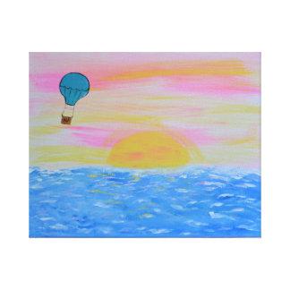 Ballon Canvas Print