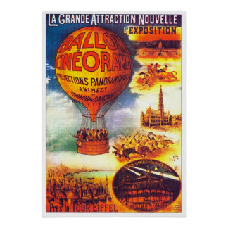 Ballon Cineorama - Poster