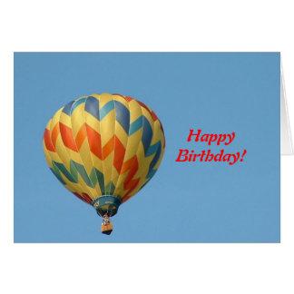 Ballon die hoog vliegen! kaart
