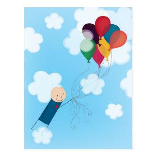 Ballons Briefkaart