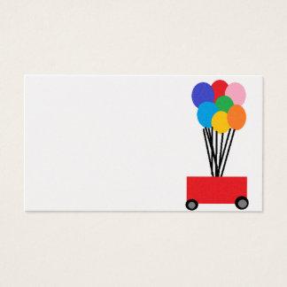 ballons visitekaartjes