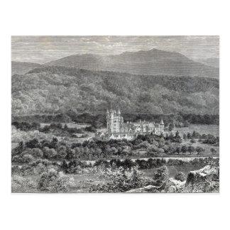 """Balmoral, van het """"Uur van de Vrije tijd"""", 1888 Briefkaart"""
