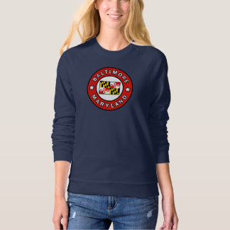 Baltimore Maryland Dames Sweater