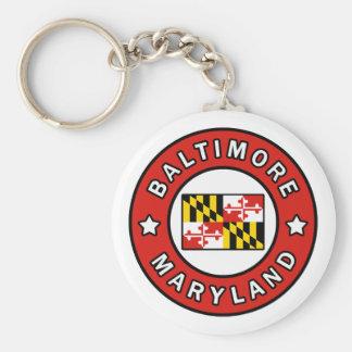 Baltimore Maryland Sleutelhanger