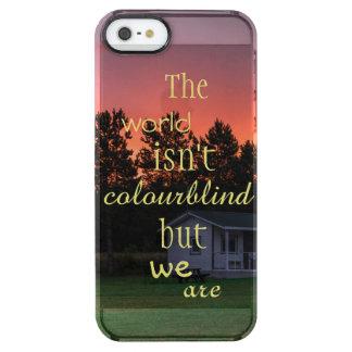 Baltische uitgave - Estland Doorzichtig iPhone SE/5/5s Hoesje